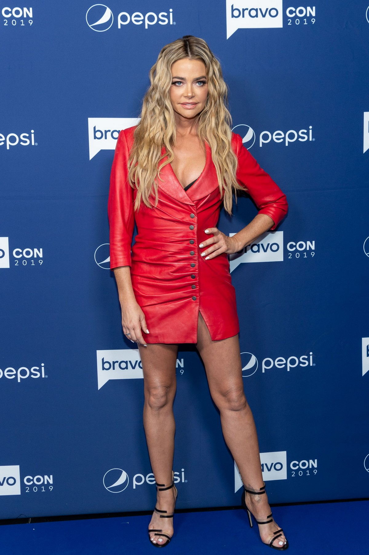 Denise Richards attends Watch What Happens Live TV Show in New York 2019/11/15 2