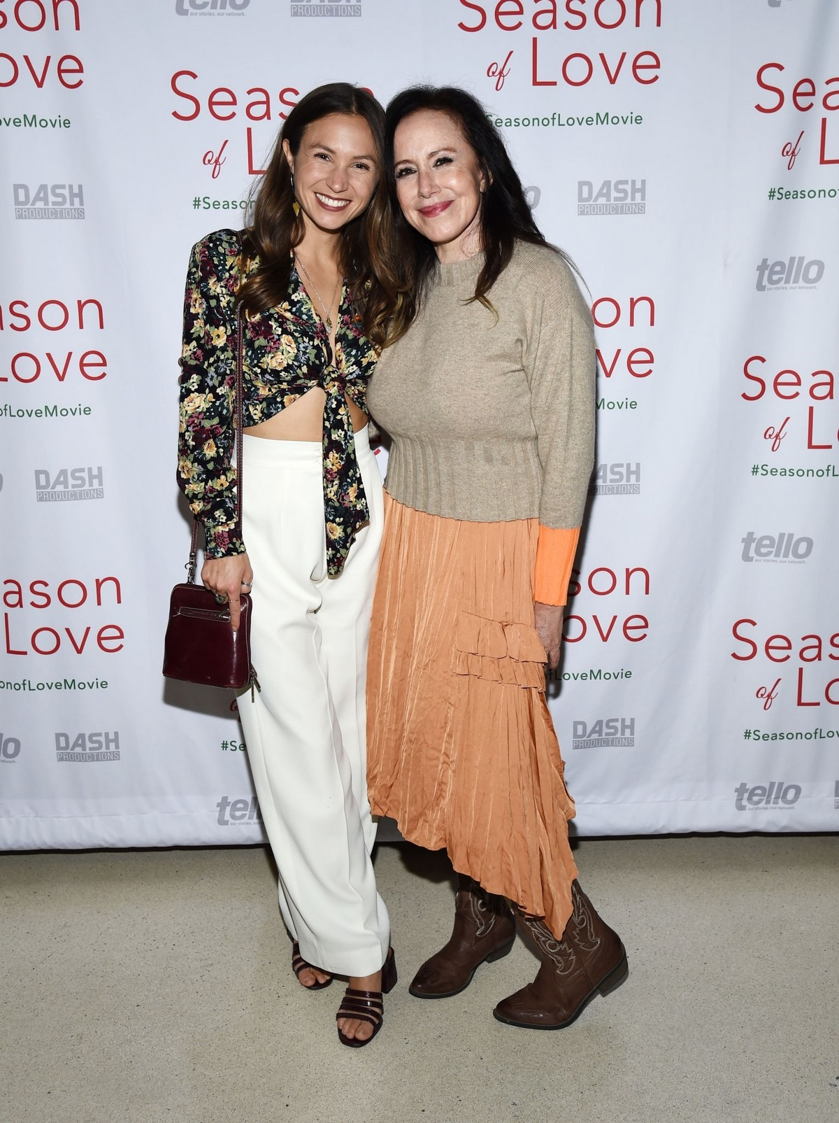 "Dominique Provost-Chalkley and Elana Krausz arrives at Premiere of ""Season of Love"" in Los Angeles 2019/11/21 1"