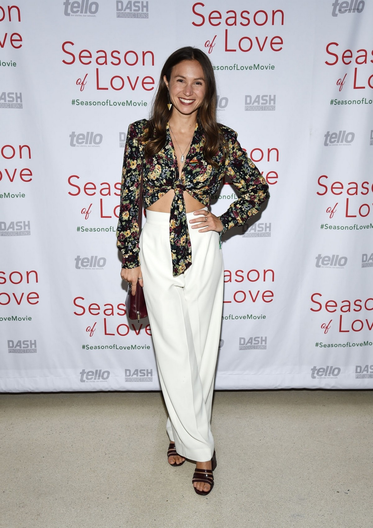 """Dominique Provost-Chalkley arrives at Premiere of """"Season of Love"""" at the Landmark Theater in Los Angeles 2019/11/21 2"""