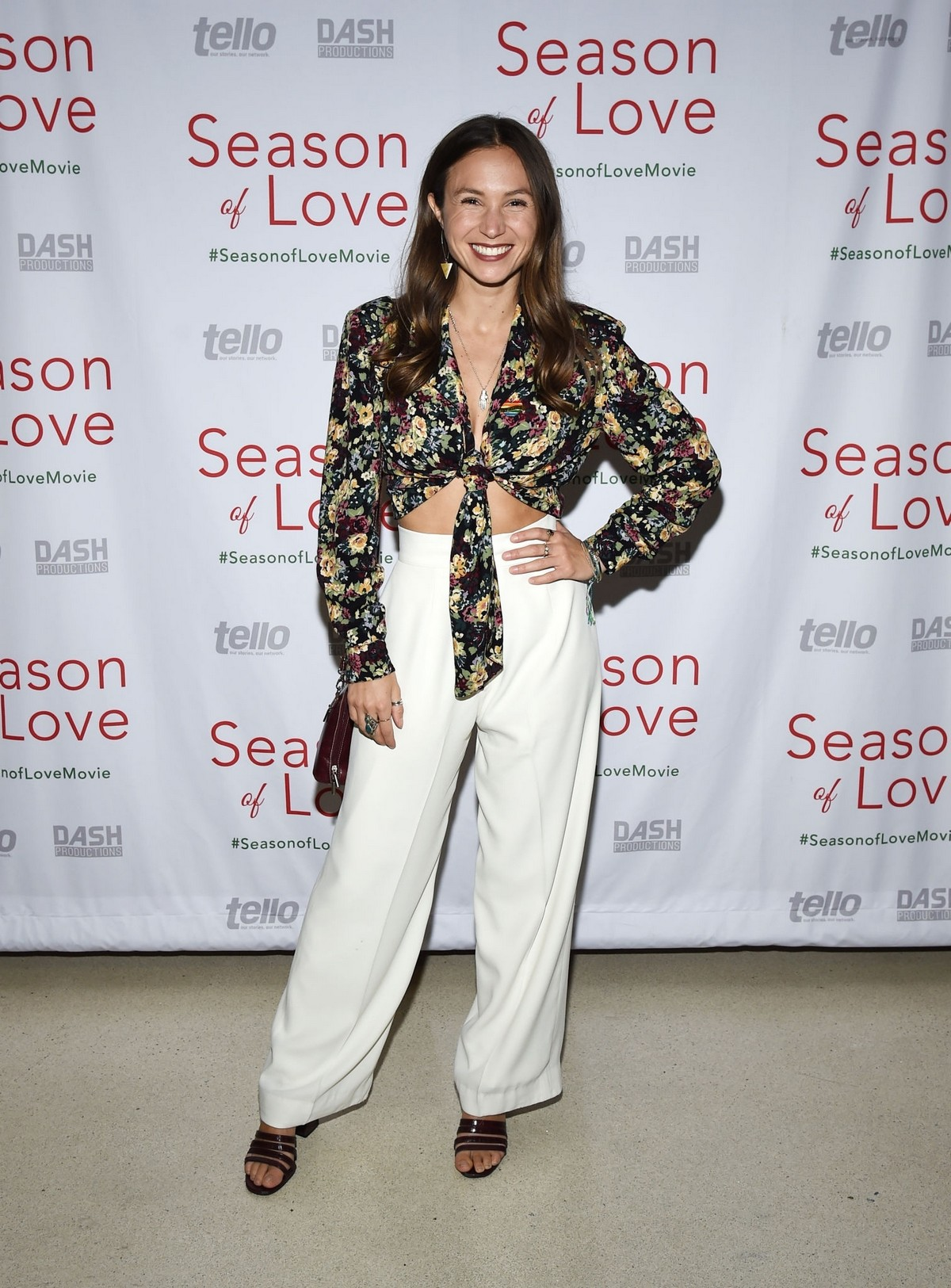 """Dominique Provost-Chalkley arrives at Premiere of """"Season of Love"""" at the Landmark Theater in Los Angeles 2019/11/21 4"""