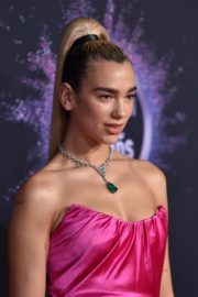 Dua Lipa attends 2019 American Music Awards at Microsoft Theater in Los Angeles 2019/11/24 18