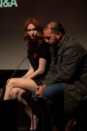 """Eleanor Tomlinson attends """"War Of The Worlds + Q&A"""" at BFI Southbank, London 2019/11/05 1"""