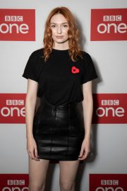 """Eleanor Tomlinson attends """"War Of The Worlds + Q&A"""" at BFI Southbank, London 2019/11/05 2"""