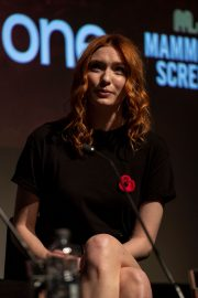 """Eleanor Tomlinson attends """"War Of The Worlds + Q&A"""" at BFI Southbank, London 2019/11/05 3"""