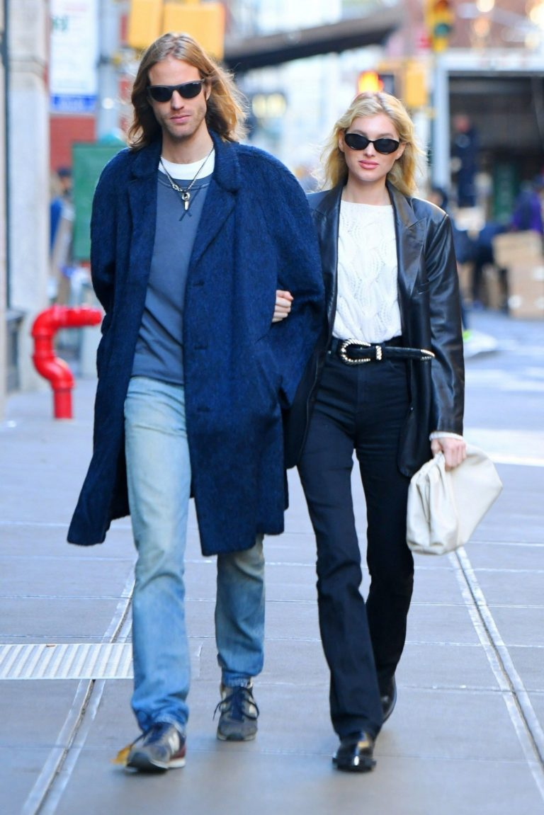 Elsa Hosk and Tom Daly out and about in SoHo, New York 2019/11/27 1