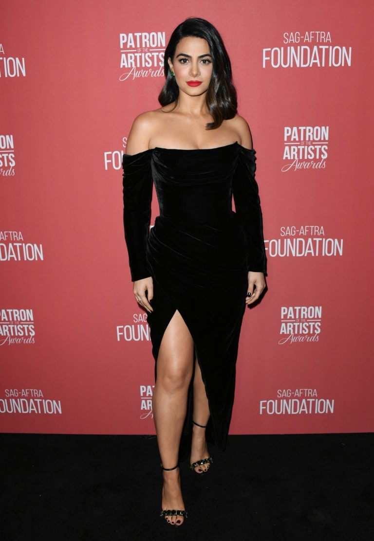 Emeraude Toubia attends 4th Annual Patron of the Artists Awards in Los Angeles 2019/11/07 4