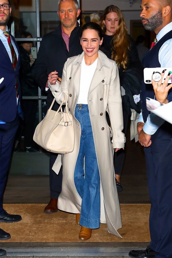 Emilia Clarke leaves night out The Whitby Hotel in New York 2019/10/28 4