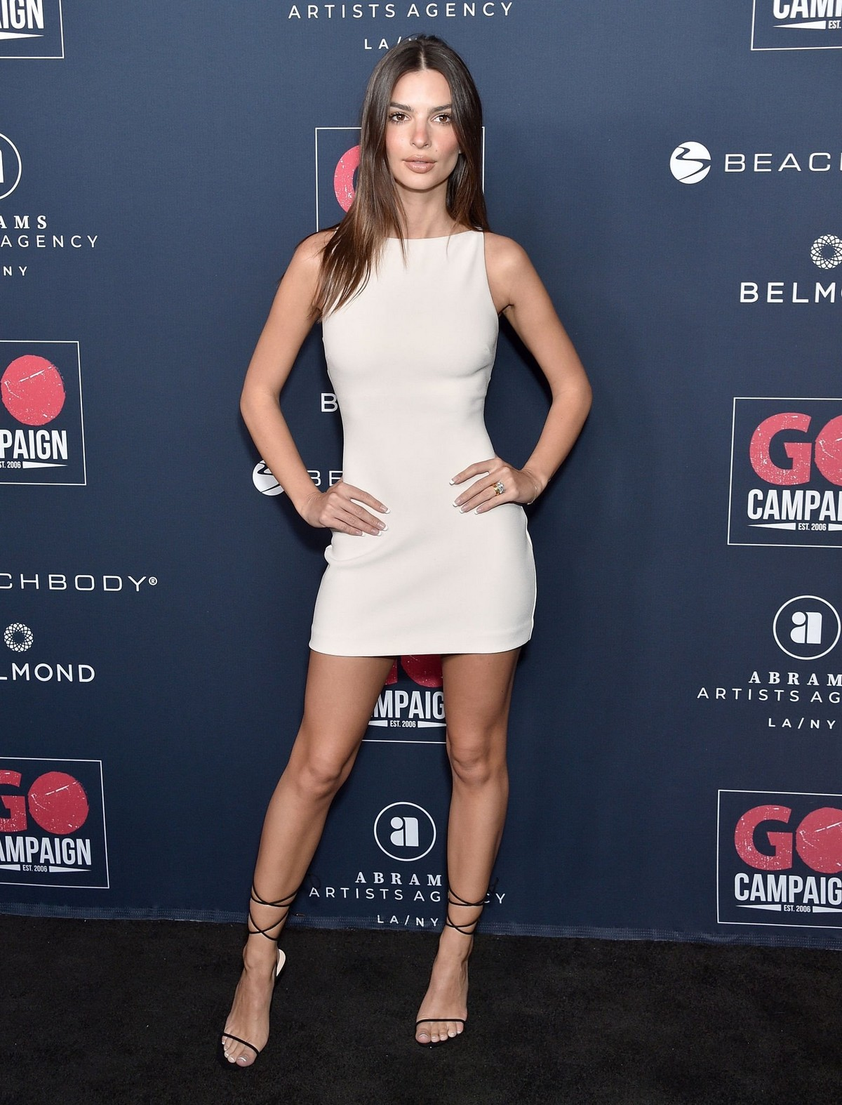 Emily Ratajkowski attends GO Campaign's 13th Annual Gala at NeueHouse in Hollywood 2019/11/16 8