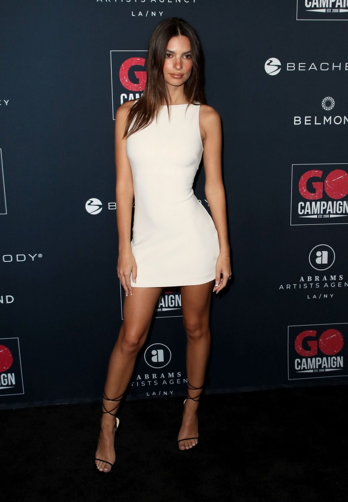 Emily Ratajkowski attends GO Campaign's 13th Annual Gala at NeueHouse in Hollywood 2019/11/16 10
