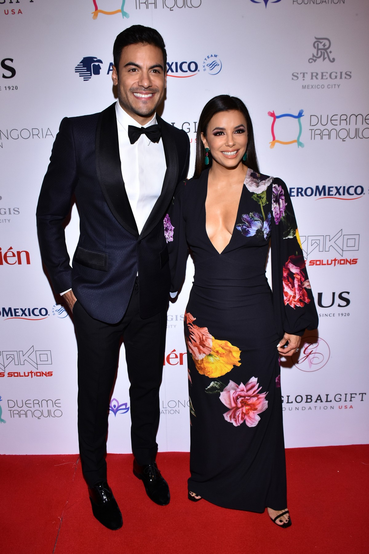 Eva Longoria and Carlos Rivera attends 5th Global Gift Foundation Gala in Mexico City 2019/11/19 3