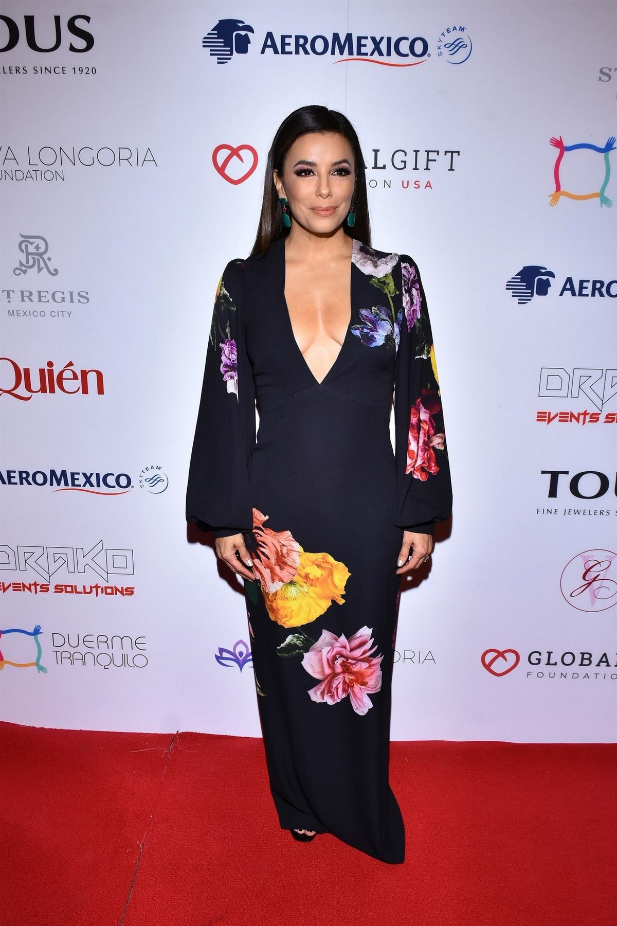 Eva Longoria attends 5th Global Gift Foundation Gala in Mexico City 2019/11/19 14