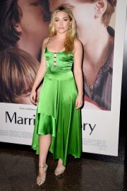 """Florence Pugh attends Netflix's """"Marriage Story"""" Premiere at DGA Theater in Los Angeles 2019/11/05 2"""