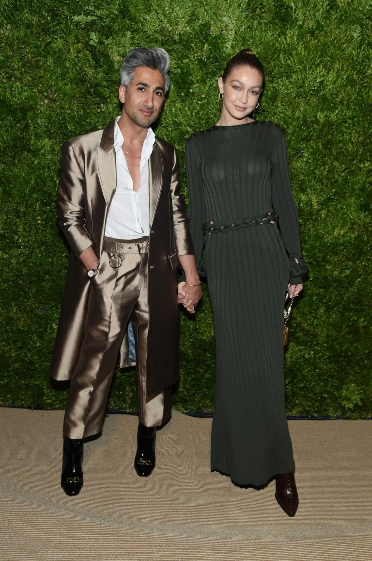 Gigi Hadid and Tan France at CFDA & Vogue Fashion Fund Awards in New York 2019/11/04 2