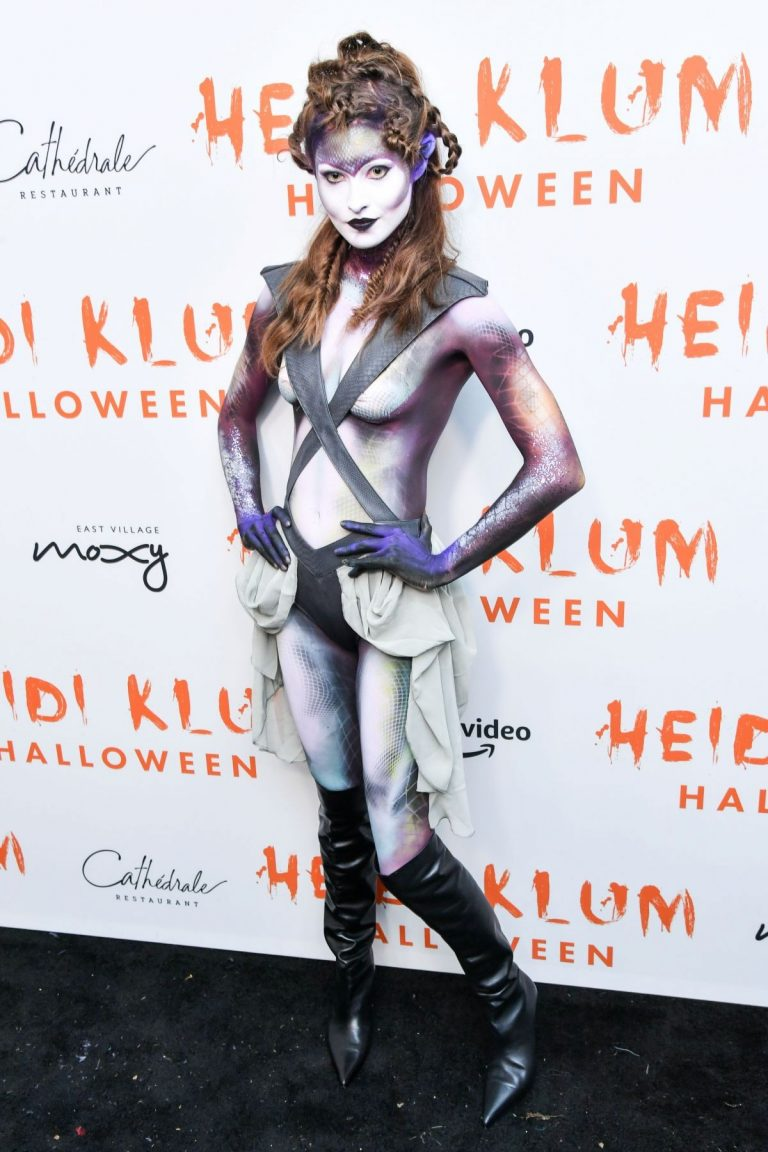 Grace Elizabeth attends Heidi Klum's 20th Annual Halloween Party in New York 2019/10/31 1