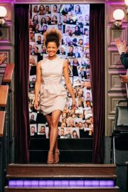 Gugu Mbatha-Raw attends The Late Late Show with James Corden in Los Angeles, California 2019/10/29 2