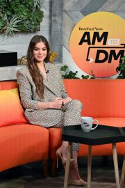 """Hailee Steinfeld visits BuzzFeed's """"AM To DM"""" New York 2019/11/01 6"""