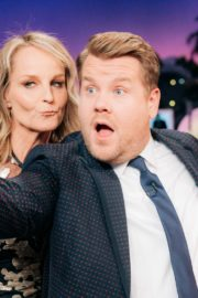 Helen Hunt and Ron Funches attend The Late Late Show with James Corden in Hollywood 2019/11/18 2