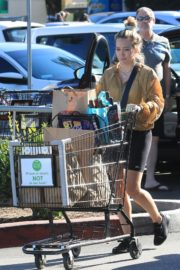 Hilary Duff Without Makeup Grocery Shopping Out at Ralph's in Los Angeles 2019/11/24 8