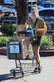 Hilary Duff Without Makeup Grocery Shopping Out at Ralph's in Los Angeles 2019/11/24 9