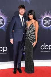 Jameela Jamil and James Blake attend 2019 American Music Awards at Microsoft Theater in Los Angeles 2019/11/24 3