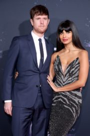 Jameela Jamil and James Blake attend 2019 American Music Awards at Microsoft Theater in Los Angeles 2019/11/24 4