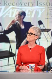 Jamie Lee Curtis The View in New York 2019/11/21 2