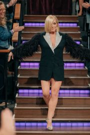 Jane Krakowski and Paul Feig attend The Late Late Show with James Corden in Los Angeles 2019/11/07 2