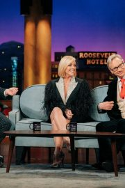 Jane Krakowski and Paul Feig attend The Late Late Show with James Corden in Los Angeles 2019/11/07 3