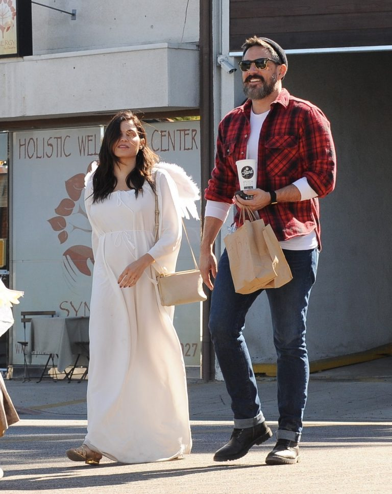 Jenna Dewan Spotted dressed as an angel in Los Angeles 10/31/2019 13