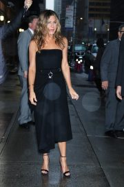 Jennifer Aniston arrives 'The Late Show with Stephen Colbert' in New York 2019/10/29 4