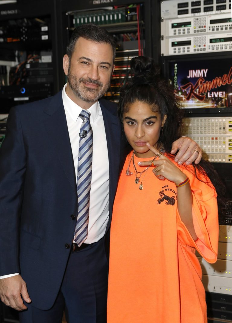 Jessie Reyez attends Jimmy Kimmel Live! in Hollywood 2019/11/21 1