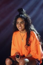 Jessie Reyez attends Jimmy Kimmel Live! in Hollywood 2019/11/21 3