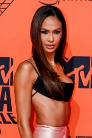 Joan Smalls attends 26th MTV Europe Music Awards in Seville, Spain 2019/11/03 4