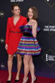 Joey and Hunter King at 2019 E! People's Choice Awards in Santa Monica 2019/11/10 — Classic Editor 3