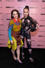 Joey King and Sofia Carson attends Teen Vogue Summit 2019 in Hollywood 2019/11/02 2