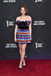 Joey King arrives at 2019 E! People's Choice Awards in Santa Monica 2019/11/10 2