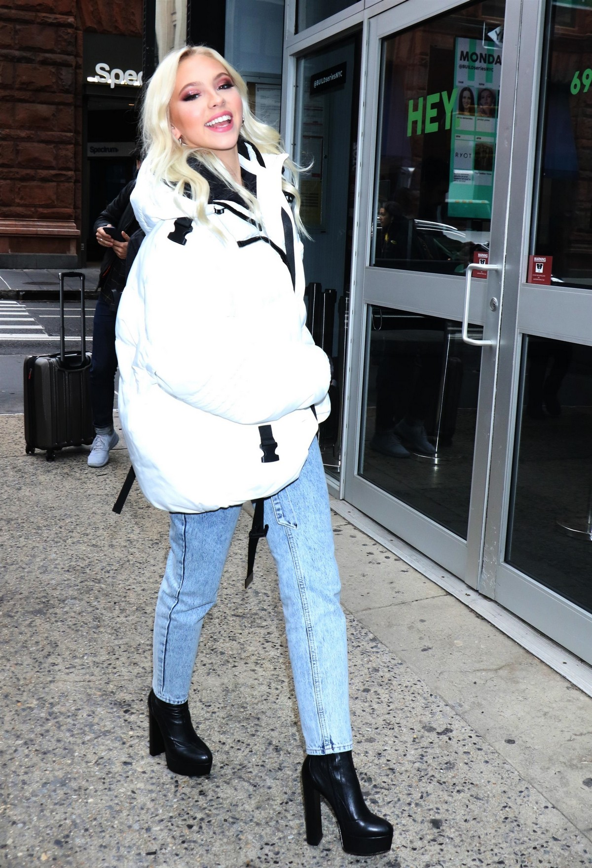 Jordyn Jones arrives at Build Series in New York 2019/11/18 5