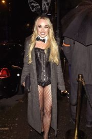 Jorgie Porter attends PLT Halloween Party 2019 at Whiskey Down in Manchester 2019/10/31 4