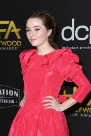Kaitlyn Dever attends 23rd Annual Hollywood Film Awards at The Beverly Hilton Hotel in Beverly Hills 2019/11/03 13