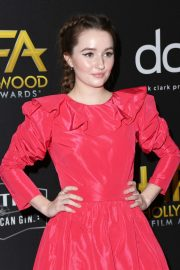 Kaitlyn Dever attends 23rd Annual Hollywood Film Awards at The Beverly Hilton Hotel in Beverly Hills 2019/11/03 14