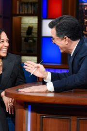 Kamala Harris attends The Late Show with Stephen Colbert in Manhattan 2019/11/21 1