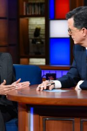 Kamala Harris attends The Late Show with Stephen Colbert in Manhattan 2019/11/21 2