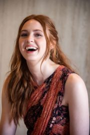 """Karen Gillan attends """"Jumanji: Next Level"""" Press Conference at the Montage Los Cabos in Mexico 2019/11/23 5"""