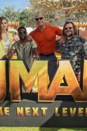 "Karen Gillan, Dwayne Johnson, Kevin Hart and Jack Black in ""Jumanji: The Next Level"" at Montage Los Cabos in Mexico 2019/11/23 1"