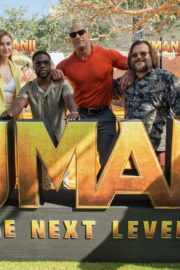 "Karen Gillan, Dwayne Johnson, Kevin Hart and Jack Black in ""Jumanji: The Next Level"" at Montage Los Cabos in Mexico 2019/11/23 2"