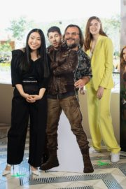 "Karen Gillan, Dwayne Johnson, Kevin Hart and Jack Black in ""Jumanji: The Next Level"" at Montage Los Cabos in Mexico 2019/11/23 7"