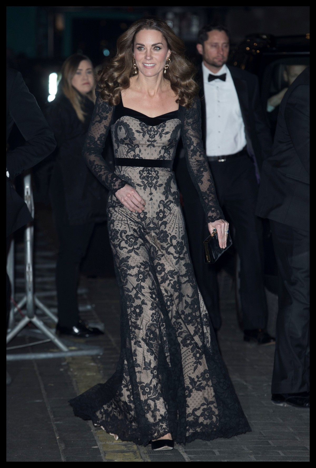 Kate Middleton attends the Royal Variety Performance in London 2019/11/18 12