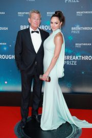 Katharine McPhee and David Foster attends 8th Annual Breakthrough Prize Ceremony in Mountain View 2019/11/03 2