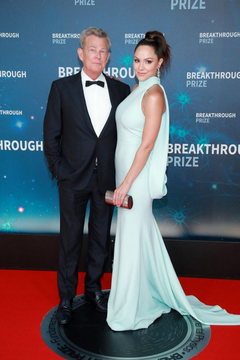 Katharine McPhee and David Foster attends 8th Annual Breakthrough Prize Ceremony in Mountain View 2019/11/03 4