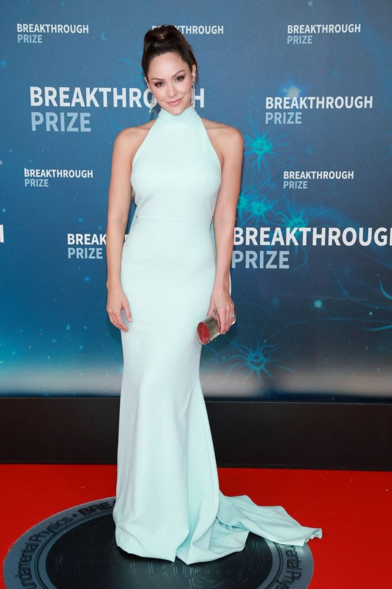 Katharine McPhee attends 8th Annual Breakthrough Prize Ceremony in Mountain View 2019/11/03 2